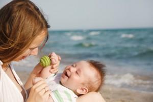 Игры с водой и море удовольствия для ребенка