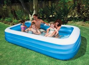Надувной бассейн для загородной дачи