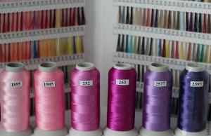 Нитки для машинной вышивки: польза применения