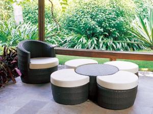 Ротанговая садовая мебель: облагораживаем дачный участок