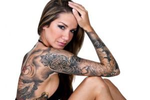 На каком участке тела лучше всего делать татуировку