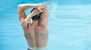 Современный бассейн в фитнес-центре «Лето»