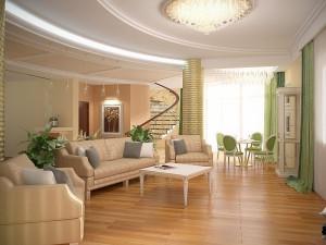 Дизайн-проект интерьера частного дома. Мой дом – моя крепость