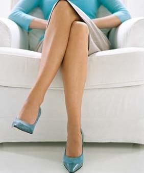 Нога на ногу
