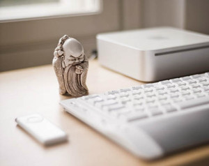 Талисман на рабочем столе