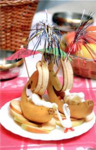 Банановый кораблик