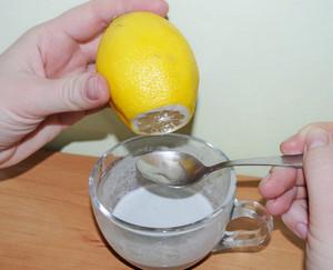 Белая глина с лимоном