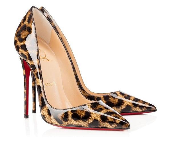 Леопардовые лабутены